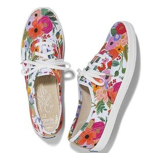 Rifle paper co. Floral Keds sneakers